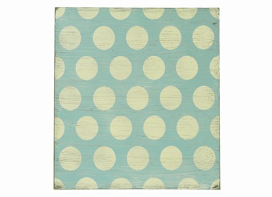 Blue Antique Dot