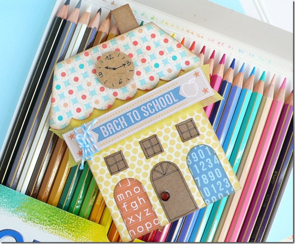 cafe creativo - sizzix big shot - card back to school - house (3)
