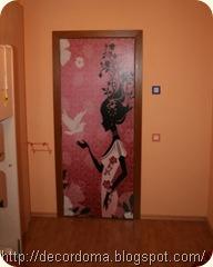 Идеи по декору дверей своими руками