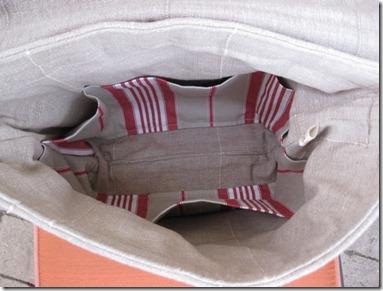 Messanger Bag inside