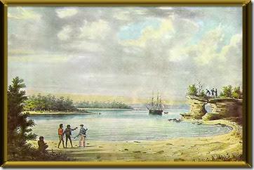 Jervis Bay by Louis Auguste de Sainson