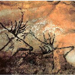 13 - Pintura rupestre en la cueva de Montignac (Francia)