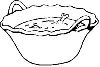 cazuela de mole -Pina