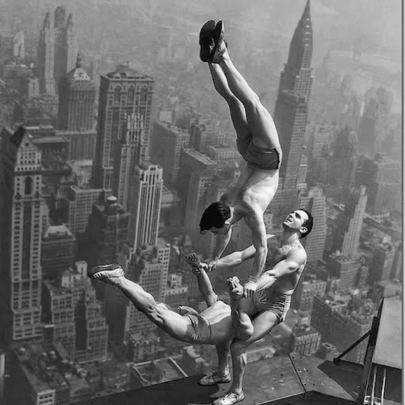 Os acrobatas do Empire State