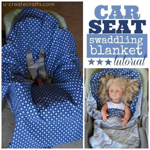 Car Seat Swaddle Blanket Pattern