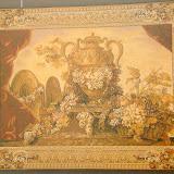 Gobelin 9019, Vase et raisins, 150x200cm, 110x150cm