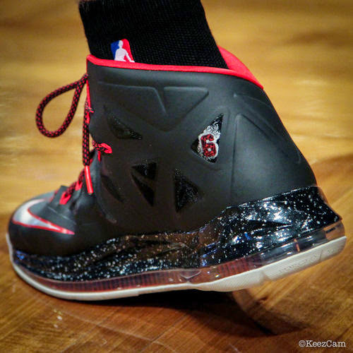 Chris Anderson aka the Birdman Wears LeBron 10 PE