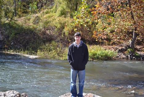 Nicolas at Grand Falls