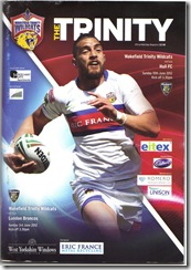 Wildcats vs Broncos prog