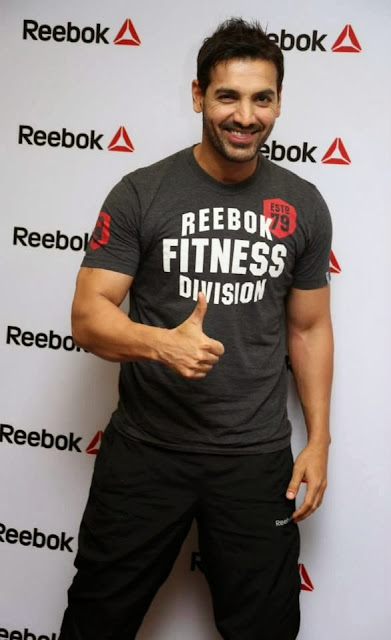 John Abraham At Reebok India's Ultimate Fitness Fan Campaign
