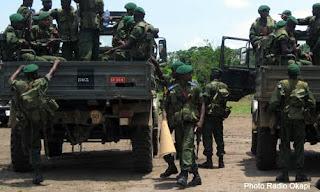 Des soldats des FARDC au Nord-Kivu.