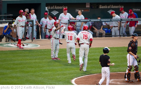 'Philadelphia Phillies' photo (c) 2012, Keith Allison - license: http://creativecommons.org/licenses/by-sa/2.0/