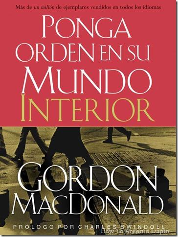 Ponga Orden en su Mundo Interior, de Gordon McDonald