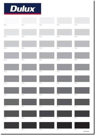 Dulux Paint Grey Shades