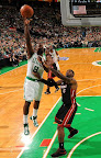 lebron james nba 130127 mia at bos 16 Boston Outlasts Miami in 2nd OT. LeBron Debuts Suede X PE!