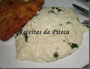 Arroz 2 queijos-empratado
