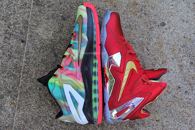 nike lebron 11 low pe championship pack 2 01 LBJ Wears LeBron 11 Low Championship Sample at His Skills Academy