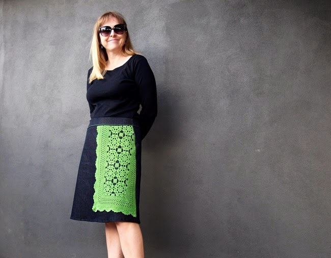 virtù - #finishit2014 doily skirt