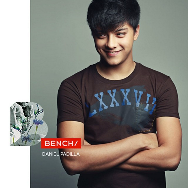 Daniel Padilla Bench back to school 2014 2