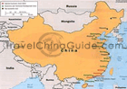 map of China special economic zones