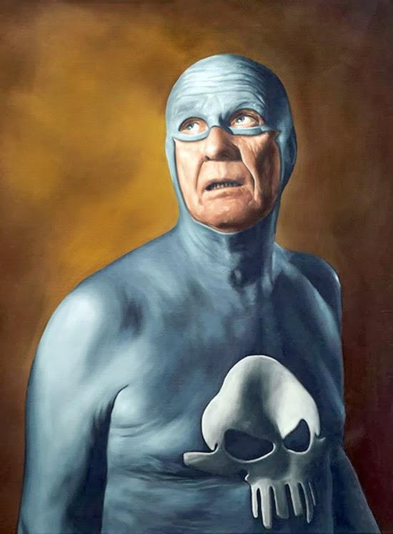 Velho super herói Fantasma 12