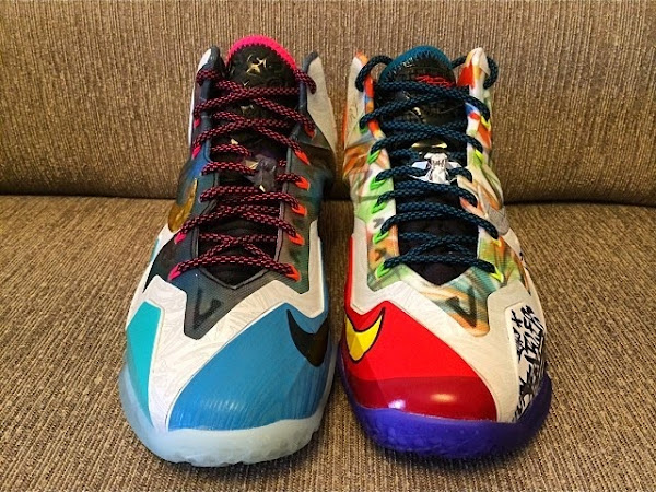 What the LeBron Nike LeBron XI Postponed New Pics with 3M