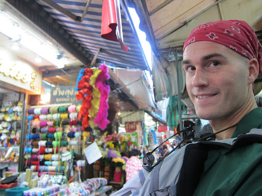 Shopping, shopping, and more shopping in Bangkok's Chinatown.