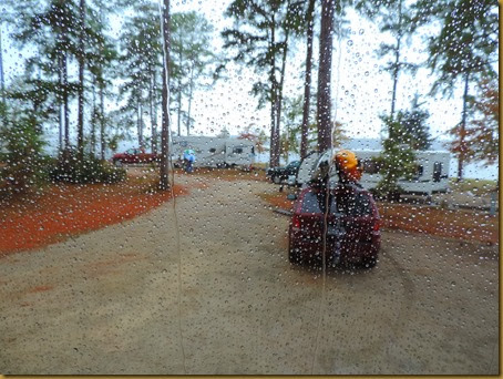 rainy day in coe