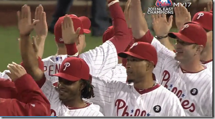 Phillies Clinch 2011