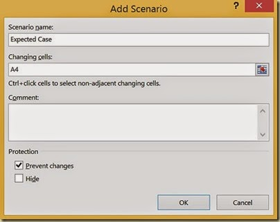 Scenario Analysis in Excel - 2nd Scenario