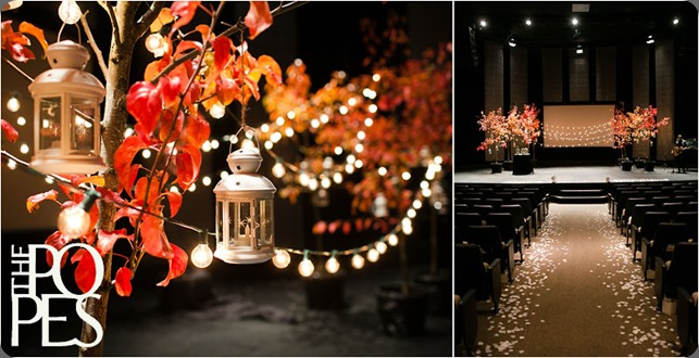 wedding_decor_trees_red_strung_lights_lanterns_Puyallup_Fourquare_washington  the popes photo