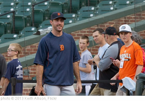 'Justin Verlander' photo (c) 2013, Keith Allison - license: https://creativecommons.org/licenses/by-sa/2.0/