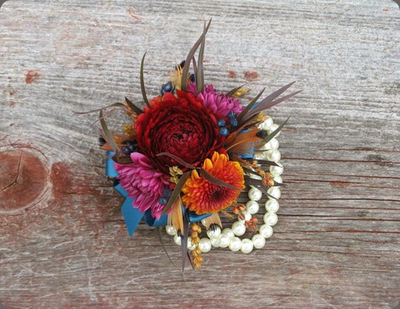 wrist corsage  flowers to be by bree1384238_10151998598429508_2111689696_n