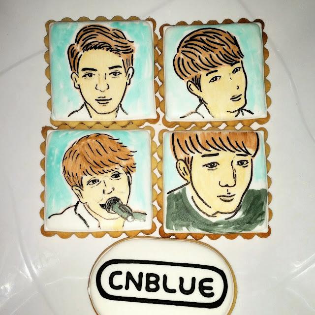 CN Blue cookies