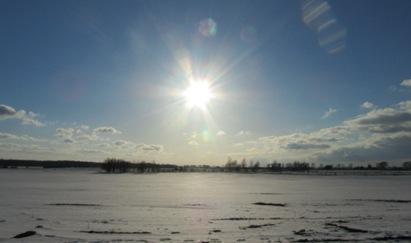 Sonne, Schee und Eis