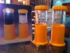 Cargo Express salt and pepper mills