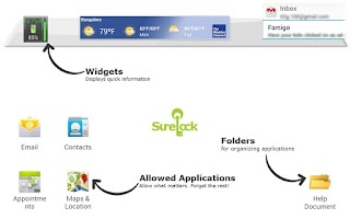 Screenshot of SureLock Kiosk Lockdown