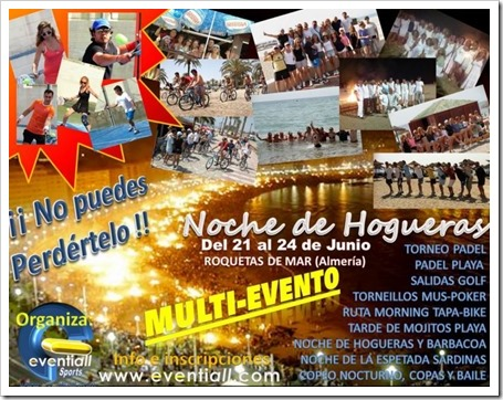 "MULTIEVENTO ""NOCHE DE HOGUERAS 2013"" EVENTIALL"