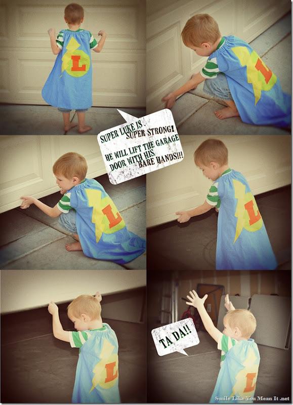 Super Luke Comic Strip