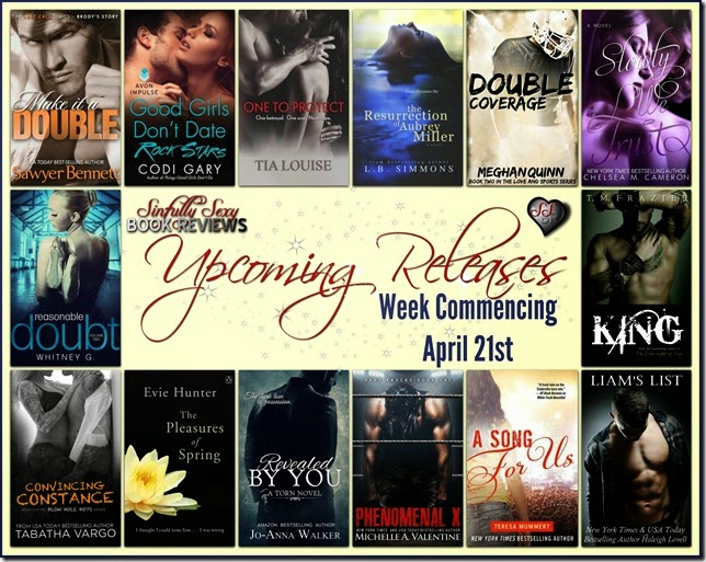 upcoming releases april 21