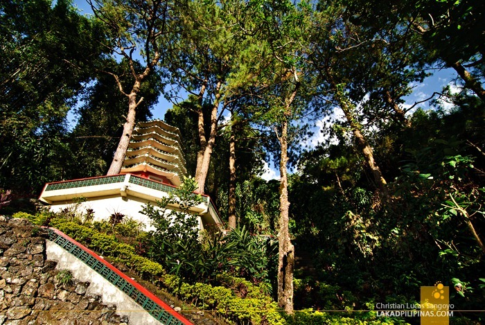 Hillside Pagodas at Baguio City's Bell Church