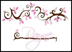 Rayne Decal
