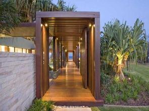 Diseño-de-Pergola-de-madera-reciclada