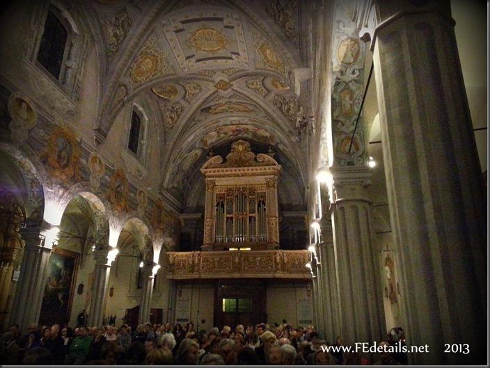 Nuovo organo della Basilica di San Giorgio, foto1, Ferrara, Emilia Romagna, Italia - New organ in the Basilica of St. George, photo1, Ferrara, Emilia Romagna, Italy - Property and Copyrights of FEdetails.net