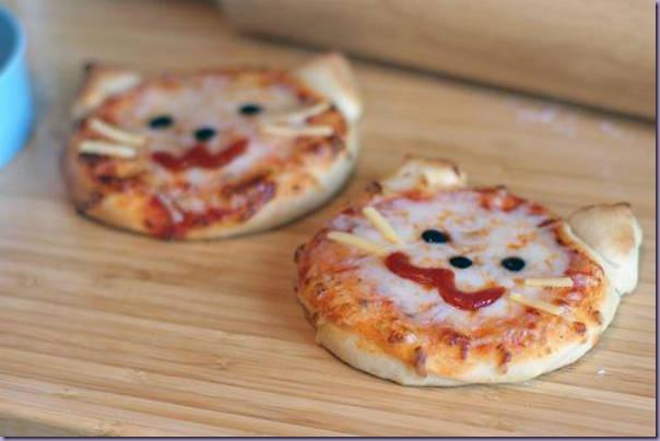 Pizzas-Gatinhos