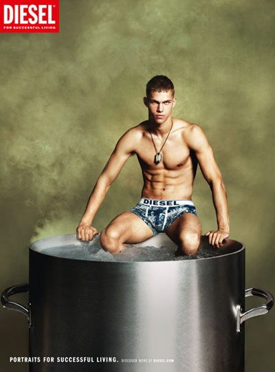 Dmitry Tanner @ Vision/Soul by Mert & Marcus for Diesel S/S 2012.
