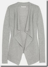Duffy Draped Cashmere Waterfall Cardigan