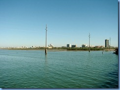 5953 Texas, South Padre Island - KOA Kampground - Pier 19 - view of South Padre skyline