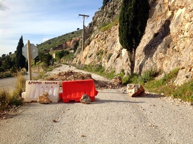 Καλούδης: O κλειστός δρόμος προς Διβαράτα τυπικό δείγμα της εγκατάλειψης της Κεφαλονιάς