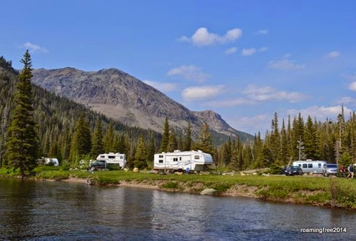 Some really nice campsites!